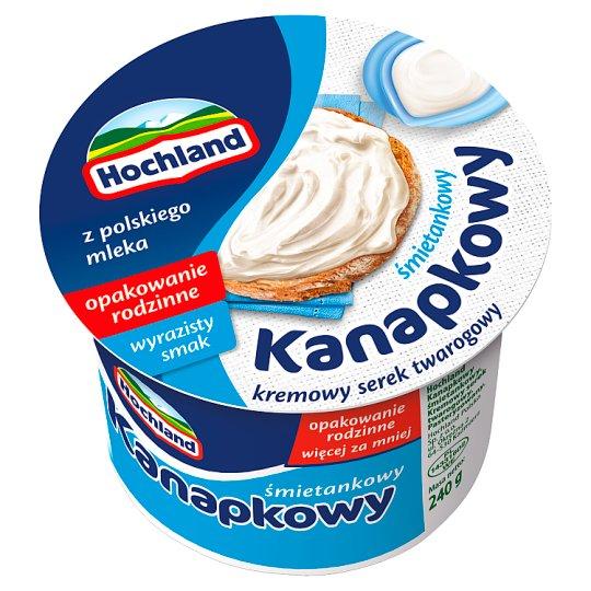 Hochland Kanapkowy Creamy Cream Cheese 240 g