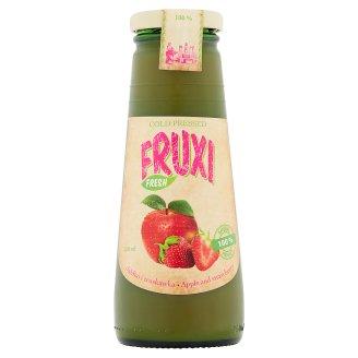 Fruxi Fresh 100% sok tłoczony ze świeżych owoców jabłko i truskawka 250 ml