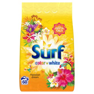 Surf Color & White Hawaiian Dream Washing Powder 3.9 kg (60 Washes)