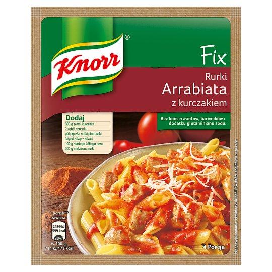 Knorr Fix rurki arrabiata z kurczakiem 46 g