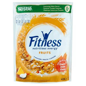 Nestlé Fitness Fruits Whole Grain Wheat Flakes 425 g