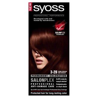 Syoss SalonPlex Farba do włosów Ciemna czekolada 3-28