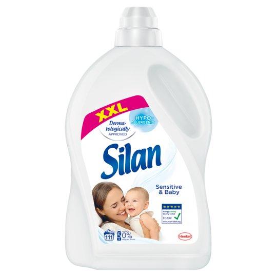 Silan Sensitive Płyn do zmiękczania tkanin 2775 ml (111 prań)