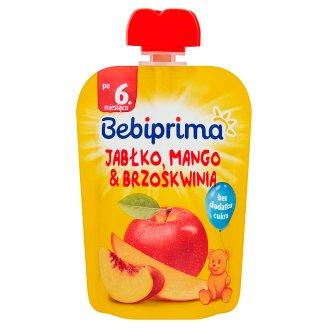 Bebiprima Jabłko mango & brzoskwinia Mus owocowy po 6. miesiącu 90 g