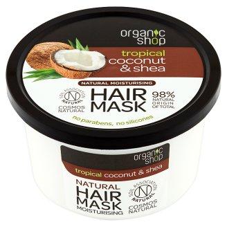 Organic Shop Maska nawilżająca kokos & shea 250 ml