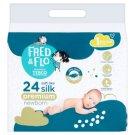 Fred & Flo Premium Newborn Pieluszki jednorazowe 1 new baby 2-5 kg 24 sztuki