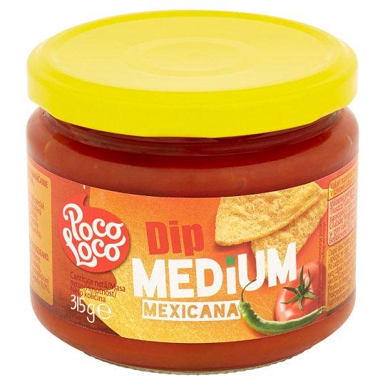 Poco Loco Sos pomidorowy z papryką średnio ostry 315 g