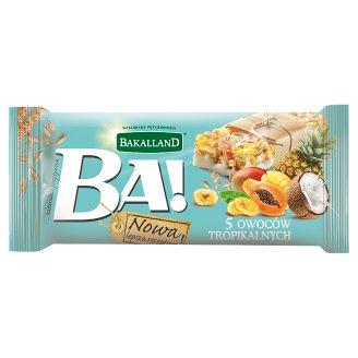 Bakalland Ba! 5 Tropical Fruits Bar 40 g