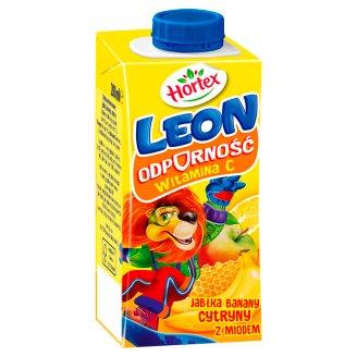 Hortex Leon Apples Bananas Lemons with Honey Nectar 200 ml
