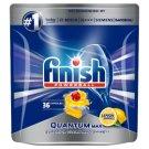 Finish Quantum Max Lemon Kapsułki do mycia naczyń w zmywarce 558 g (36 sztuk)
