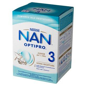 NAN OPTIPRO 3 Powdered Milk for Children after 1. Year Onwards 800 g (2 x 400 g)