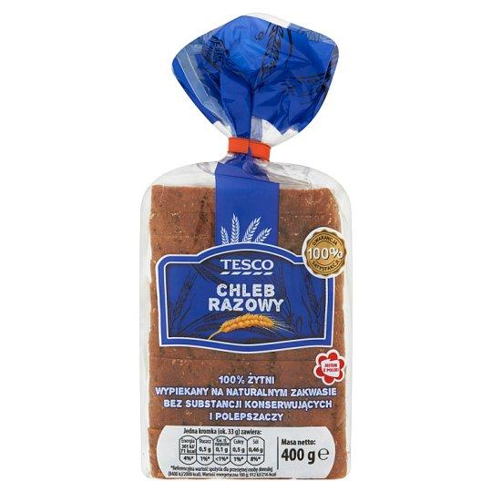 Tesco Wholemeal Bread 400 g