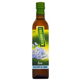 Kujawski len Olej tłoczony na zimno 500 ml