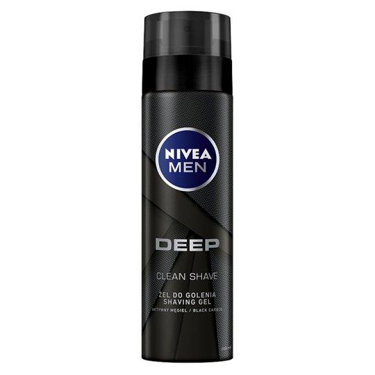 NIVEA MEN Deep Shaving Gel 200 ml