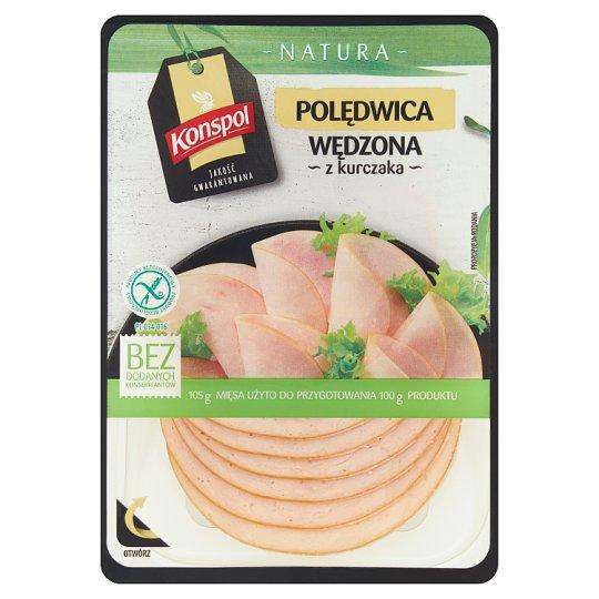 Konspol Natura Polędwica wędzona z kurczaka 100 g