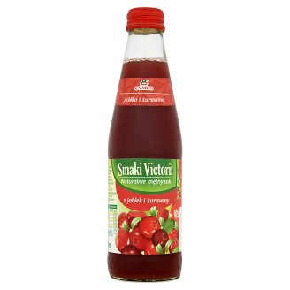 Victoria Cymes Smaki Victorii Apple and Cranberry Juice 250 ml