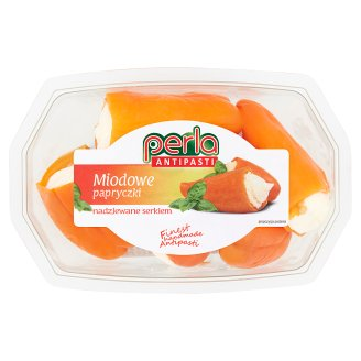 Perla Antipasti Honey Peppers with Cheese 150 g