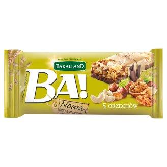 Bakalland Ba! 5 Nuts Cereal Bar 40 g