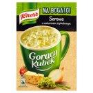 Knorr Gorący Kubek Na Bogato! Serowa z makaronem szpinakowym 40 g