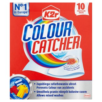 K2r Colour Catcher Tissues for Washing 10 Pieces