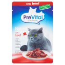 PreVital Naturel Complete Food for Adult Cats with Beef in Gravy 85 g