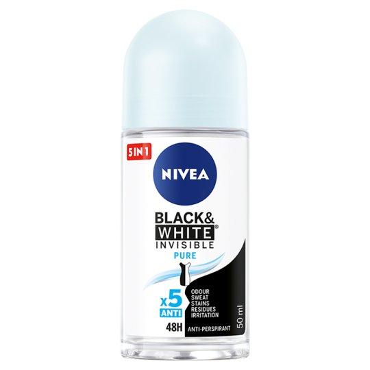 NIVEA Black&White Invisible Pure Antyperspirant w kulce 50 ml