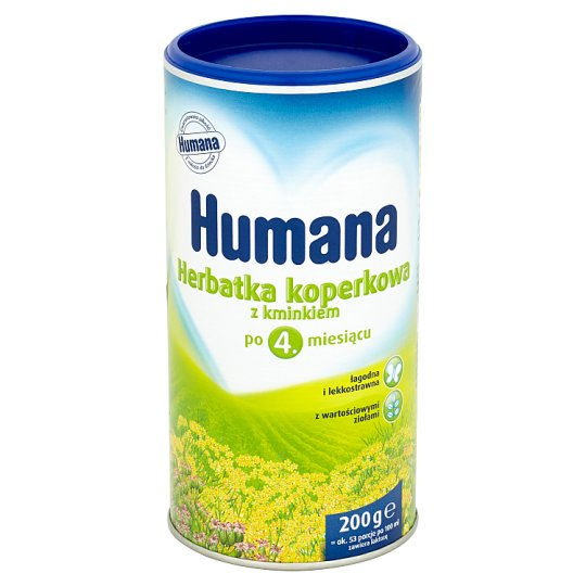 Humana Fennel Tea with Caraway after 4. Months Onwards 200 g