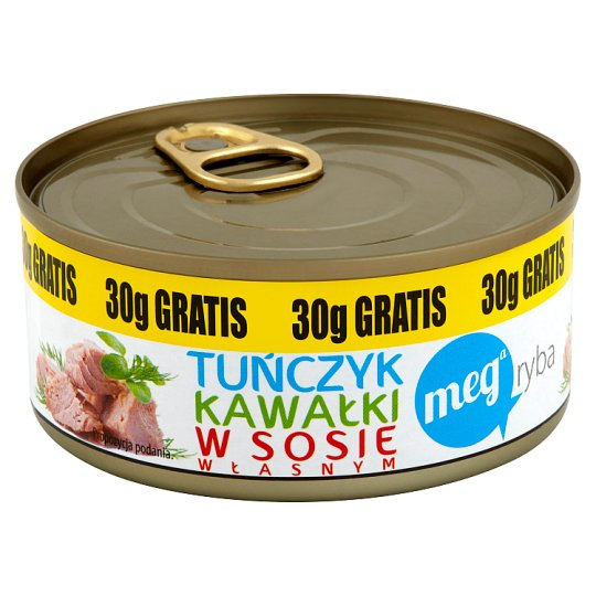 Mega Ryba Tuna Chunks in Gravy 170 g