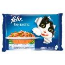 Felix Fantastic Karma dla dorosłych kotów wiejskie smaki z warzywami w galaretce 400 g (4 x 100 g)