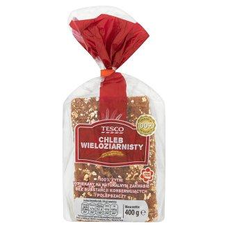 Tesco Chleb wieloziarnisty 400 g