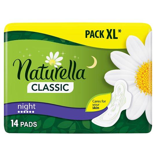 Naturella Sanitary Towels Classic Night Camomile 14 Pads