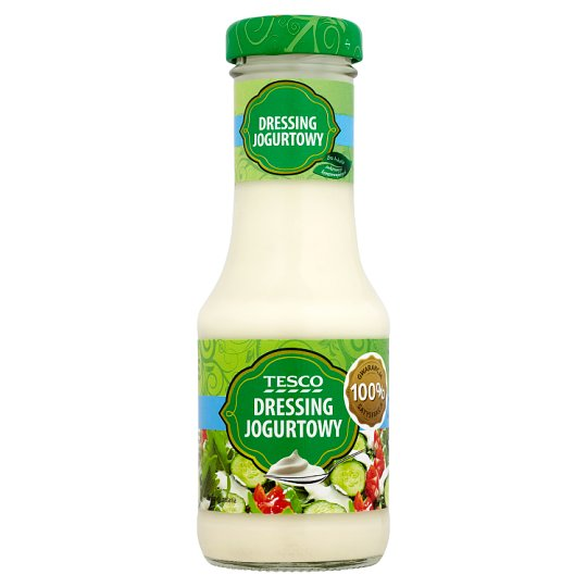 Tesco Dressing jogurtowy 200 ml