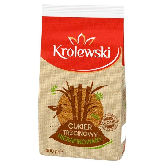 Cukier Królewski Unrefined Cane Sugar 400 g