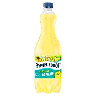 Żywiec Zdrój Na Gazie Napój gazowany cytrynowy 1 l