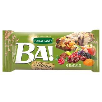 Bakalland Ba! Cereal Bar with 5 Dried Fruits 40 g