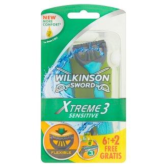 Wilkinson Sword Xtreme3 Sensitive Disposable Razors 8 Pieces