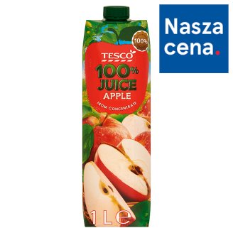 Tesco Apple from Concentrate 100% Juice 1 L