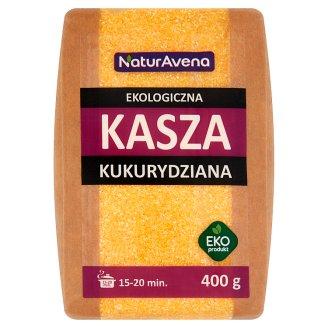 NaturAvena Ekologiczna kasza kukurydziana 400 g