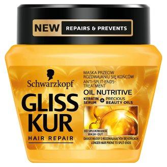 Gliss Kur Oil Nutritive Maska przeciwdziałająca rozdwajaniu do włosów 300 ml