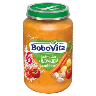 BoboVita Ragout with Turkey and Tomatoes after 6 Months Onwards 190 g