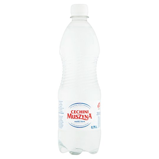 Muszyna Cechini Naturalna woda mineralna wysokozmineralizowana niskonasycona 0,75 l