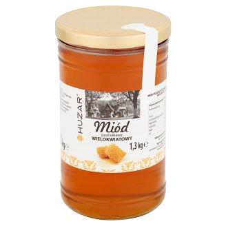 Huzar Miód pszczeli nektarowy wielokwiatowy 1,3 kg