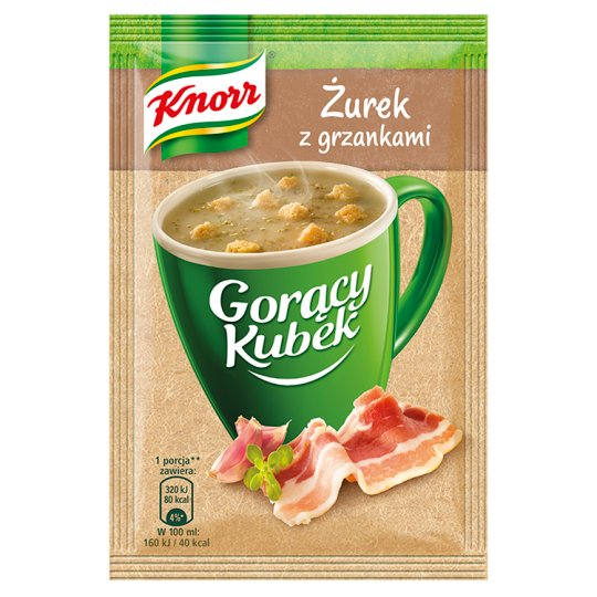 Knorr Gorący Kubek Sour Rye Soup with Croutons 17 g
