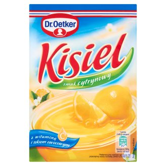 Dr. Oetker Lemon Flavoured Instant Jelly 38 g