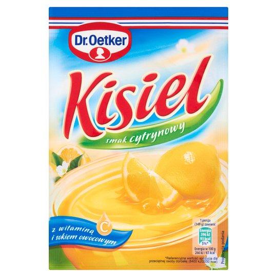 Dr. Oetker Lemon Flavoured Instant Jelly 38 g