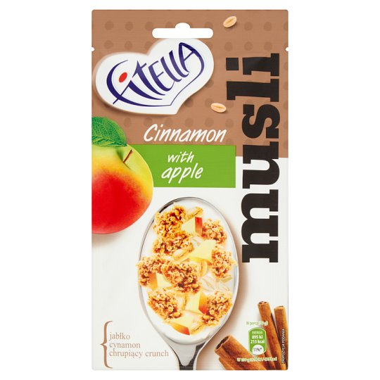 Fitella Muesli Cinnamon with Apple 50 g