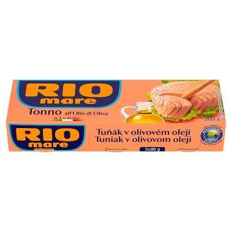 Rio Mare Tuna in Olive Oil 3 x 80 g