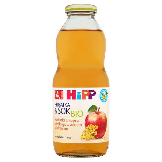 HiPP BIO Herbatka & Sok Bio z kopru włoskiego z sokiem jabłkowym po 4. miesiącu 0,5 l