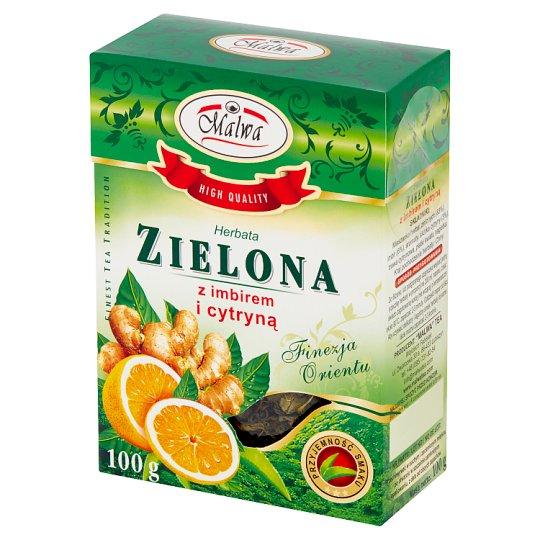 Malwa Green Tea with Ginger and Lemon 100 g