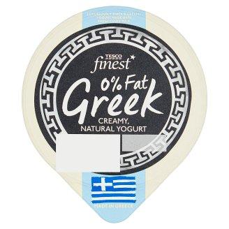 Tesco Finest 0% Fat Greek Natural Yogurt 150 g